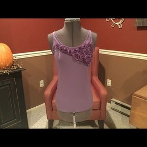 The Limited Lavender Tank Size M